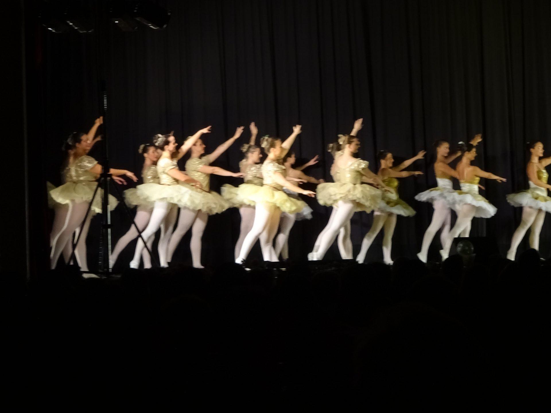 Ballet Veranstaltung Gassenlicht, Frontlicht , PA