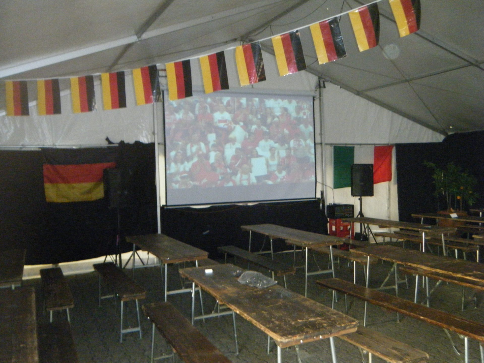 Fussball Party Italy