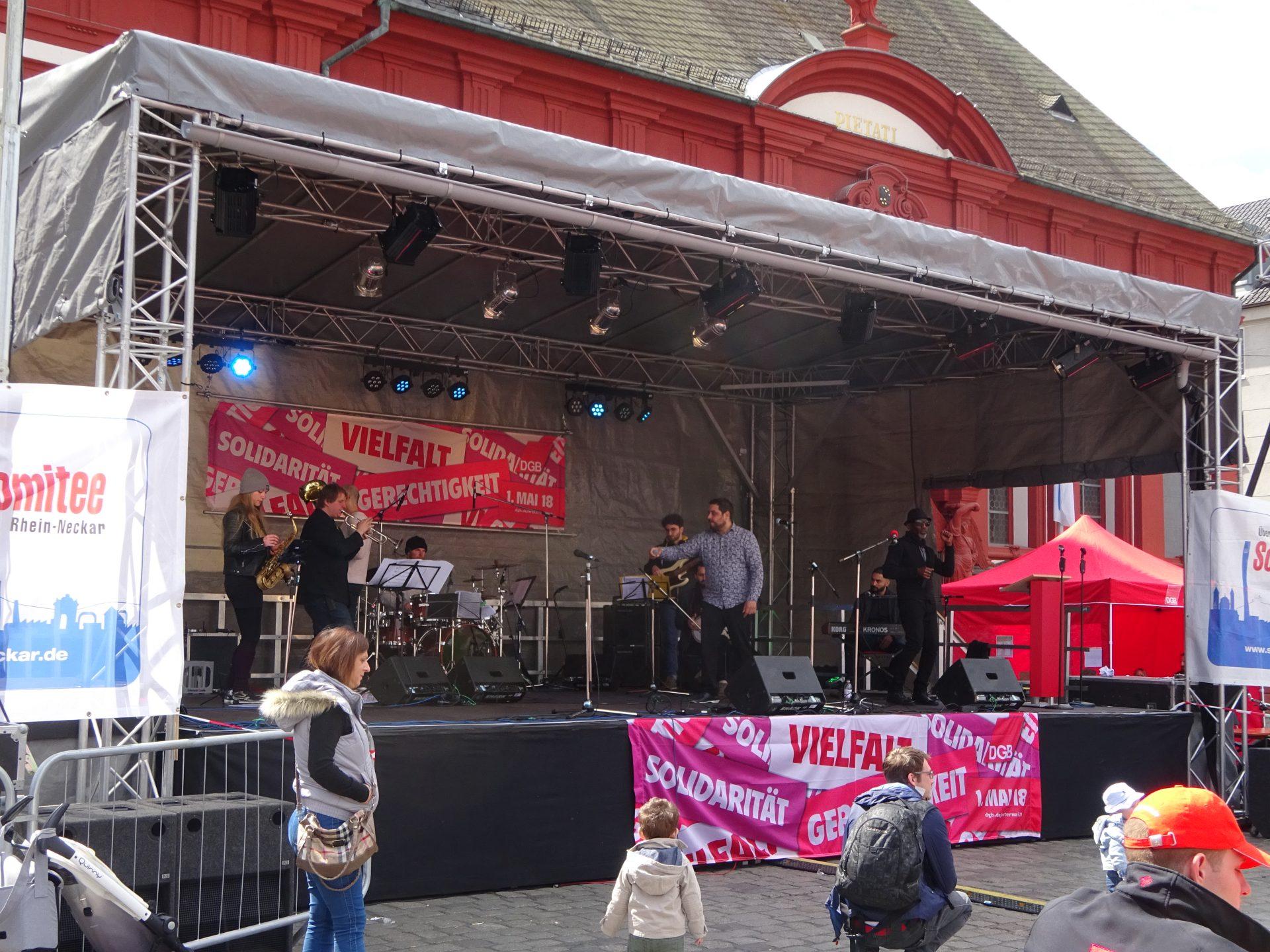 Bühne 10m x 6m OpenAir