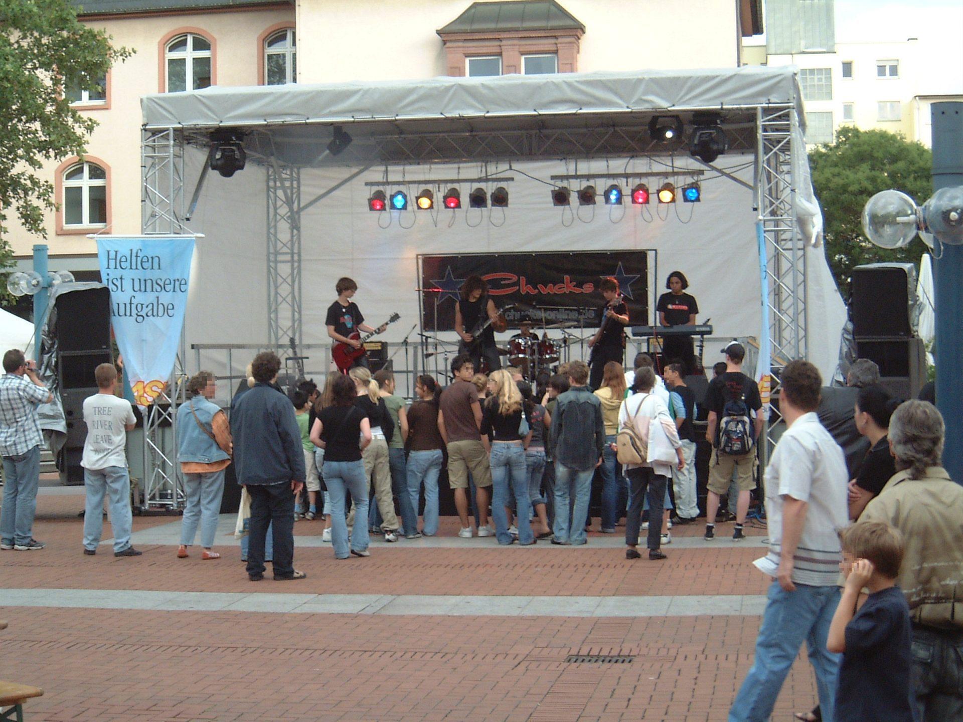 Bühne 7x5 m Stadfest