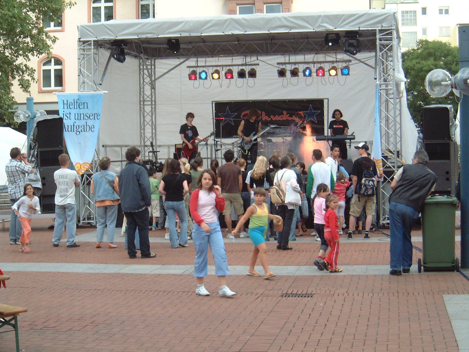 Bühne 7x5m Stadtfest