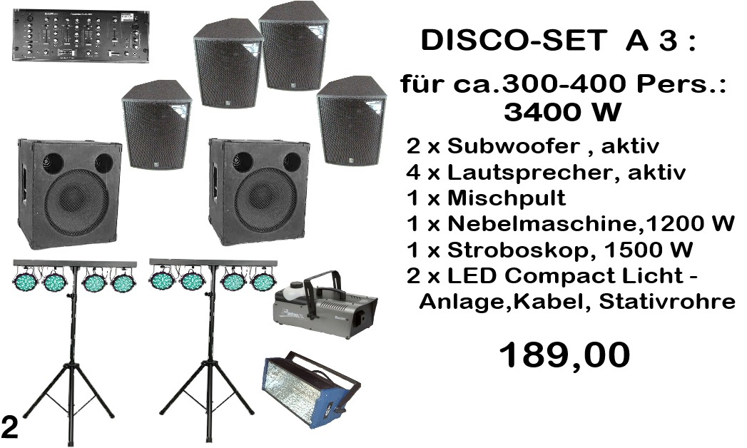 Disco-Set A3