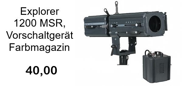 Verfolger Ultralite Explorer 1200MSR