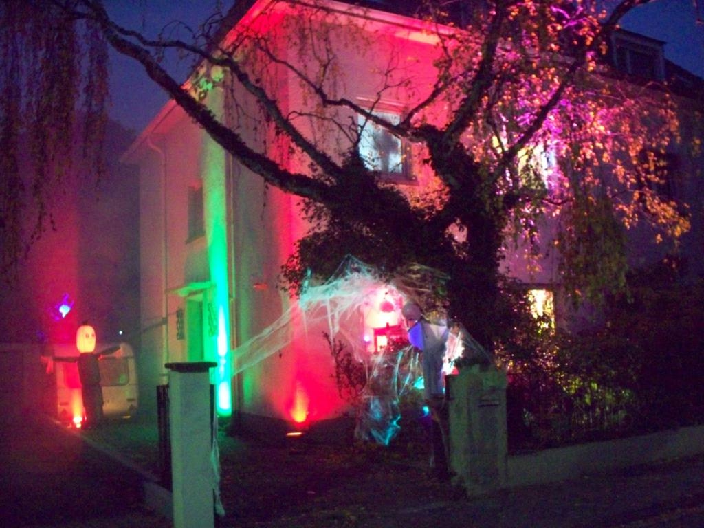 Halloween-Beleuchtung
