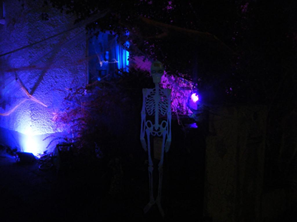 Halloweenbeleuchtung