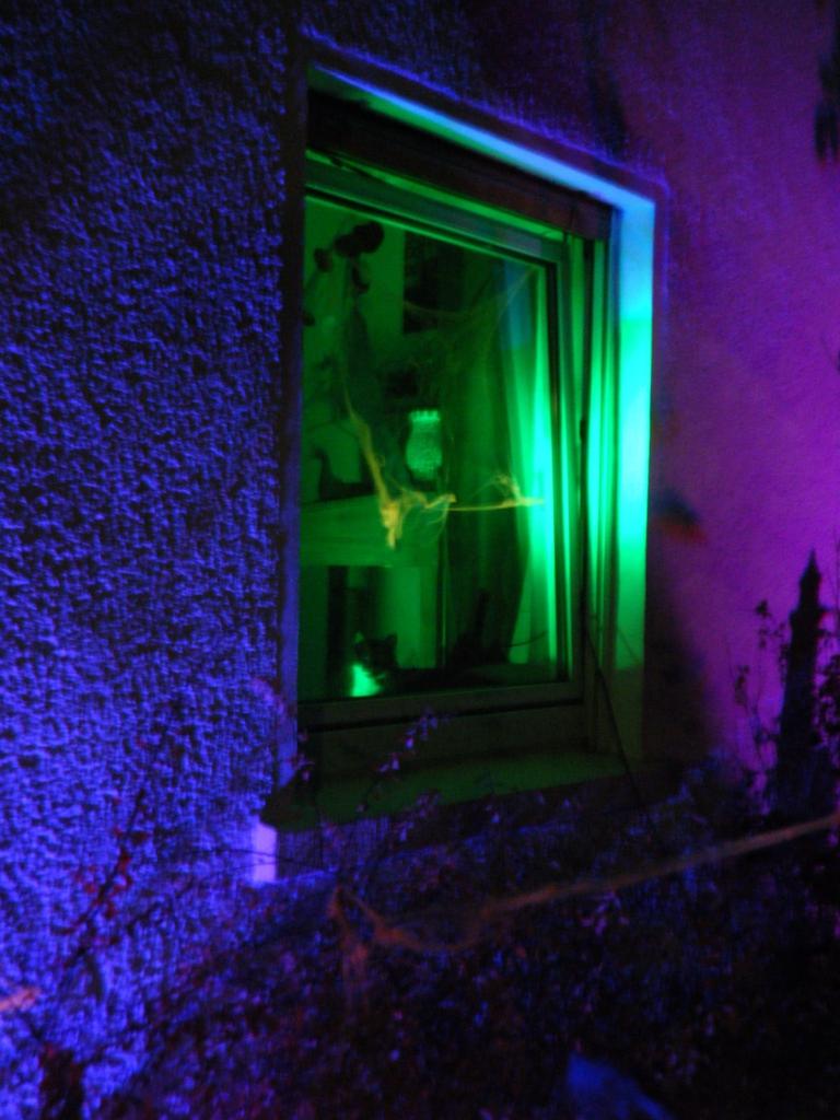 Halloween-Fenster