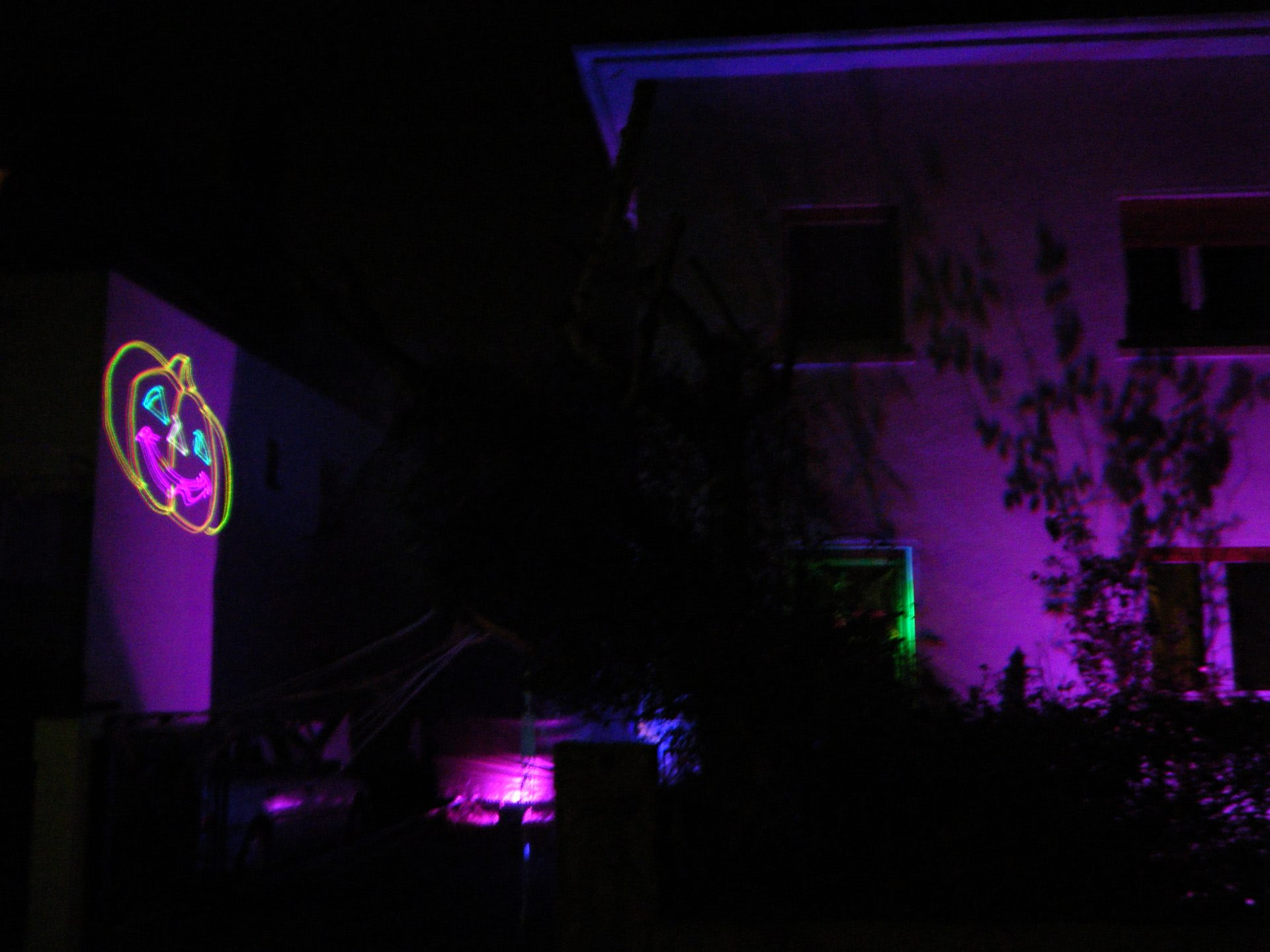 Halloween Kuerbis Laser