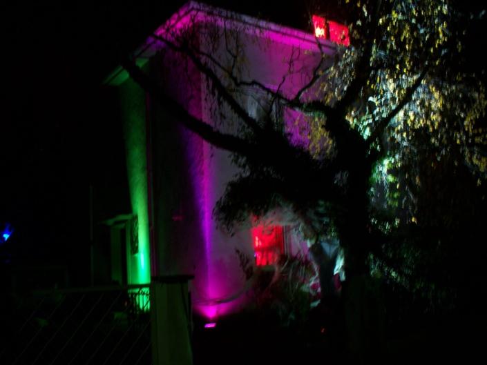 Haus-Beleuchtung für Halloween