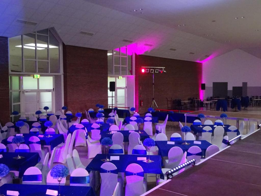 Lichtanlage Tanzfläche Hiphop Event