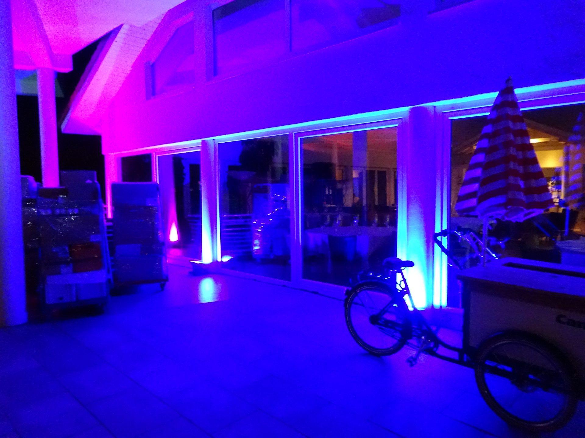 Hochzeit LED Fluter Outdoor