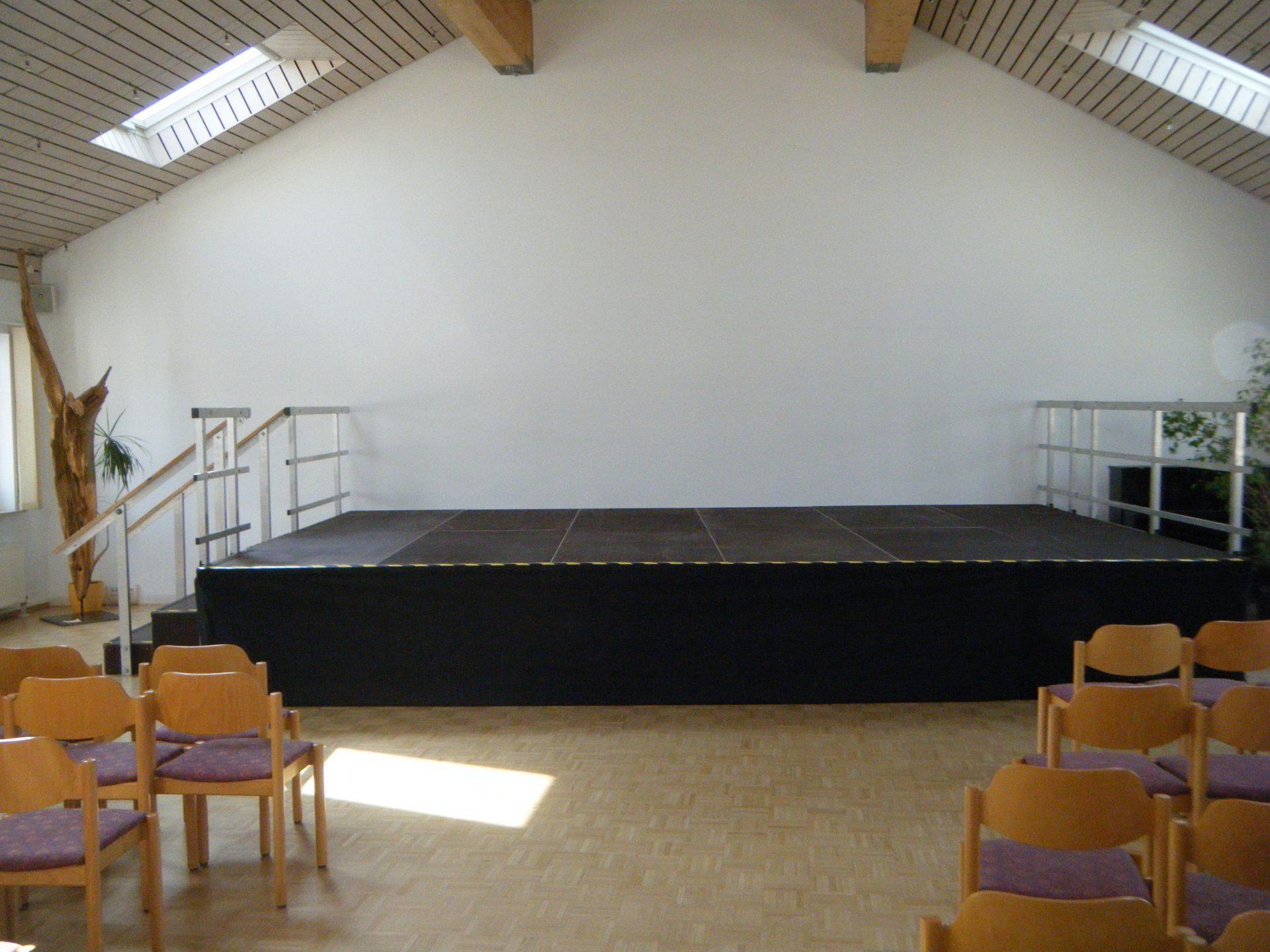 Indoor Bühne Gemeindesaal 3 Stock