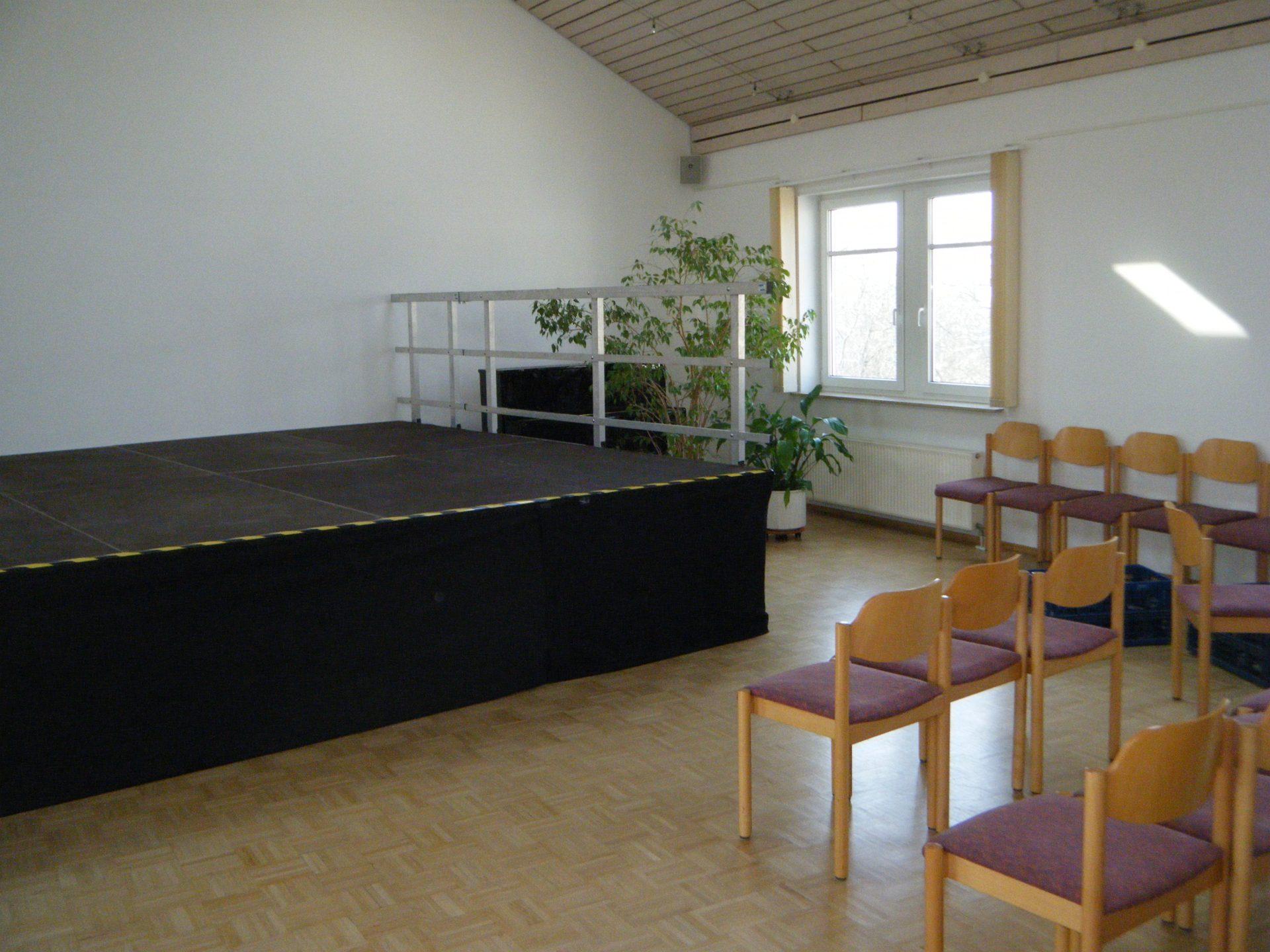 Geländer Indoor - Bühne Gemeindesaal