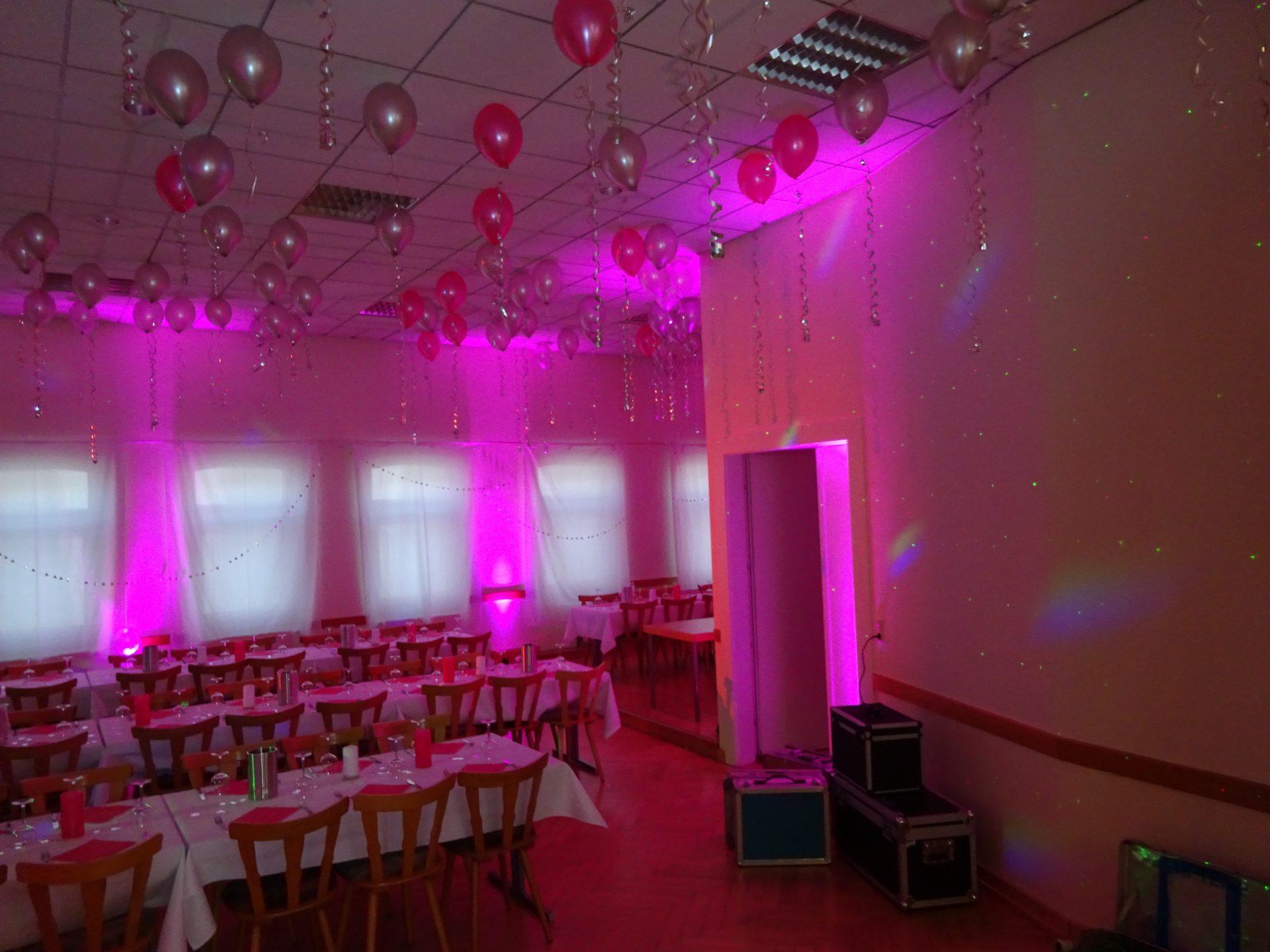 JubiläumTripar Walllight pink