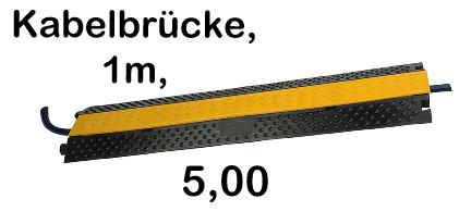 Kabelbrücke, 1m