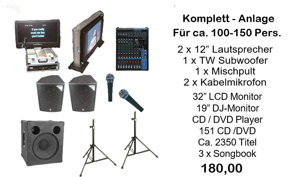 Karaoke-Komplett SET