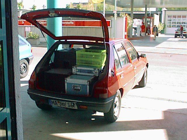 Ladekuenstler Peugeot 205