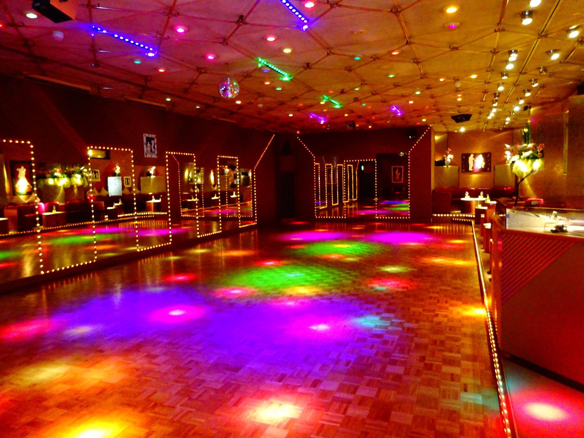 Lichtanlage Tanzschule