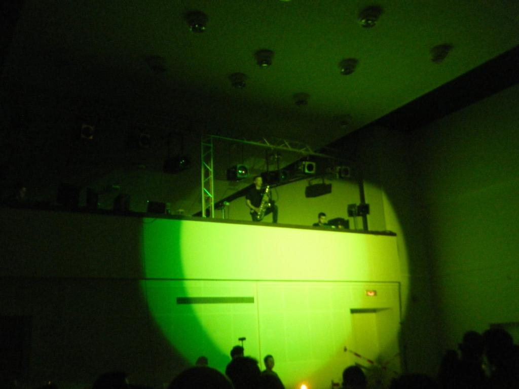 Sax Solo im Kegel MSD 250W Movinghead