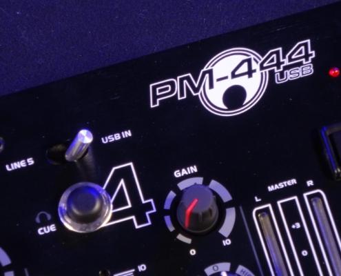 Omnitronic PM444 USB Mischpult