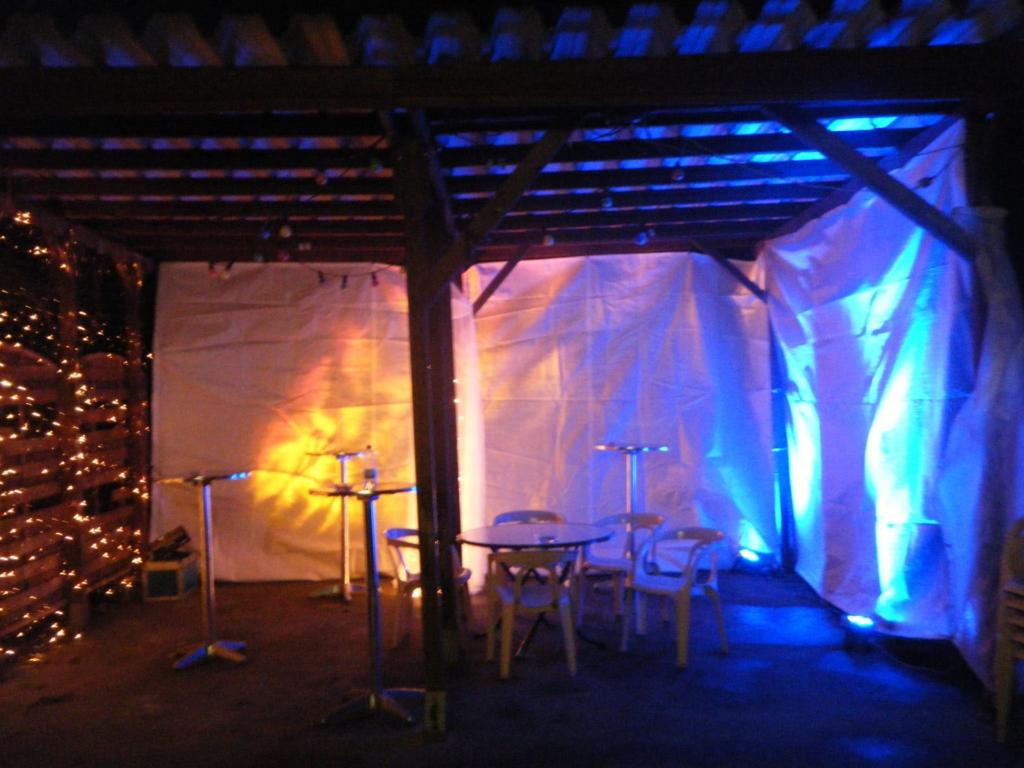 Tripar, Feuereffekt Aussenbeleuchtung Party