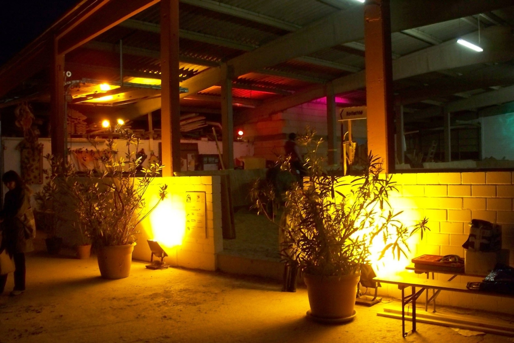 Sommerfest-Beleuchtung