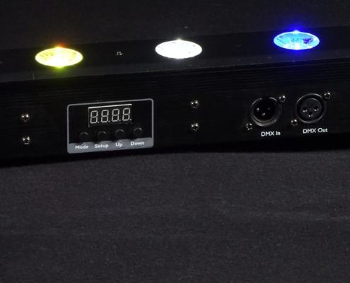 LED Pixelbar Menu