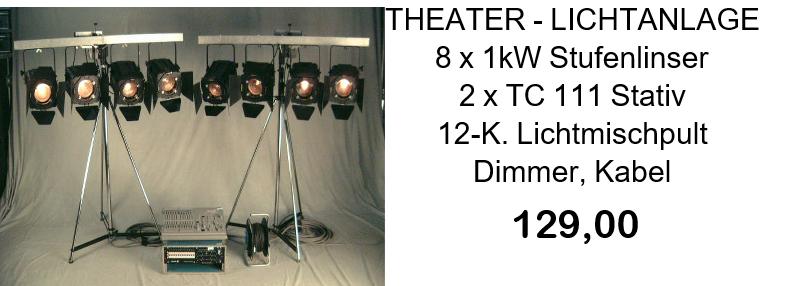 Theaterlichtanlage komplett