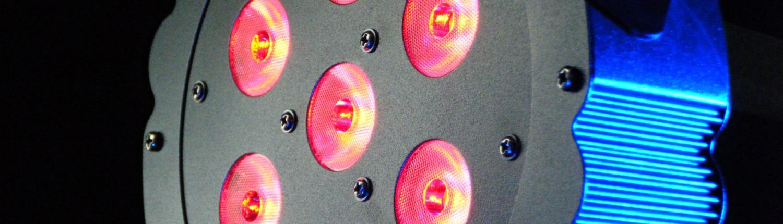 LED Tripar 7x3W