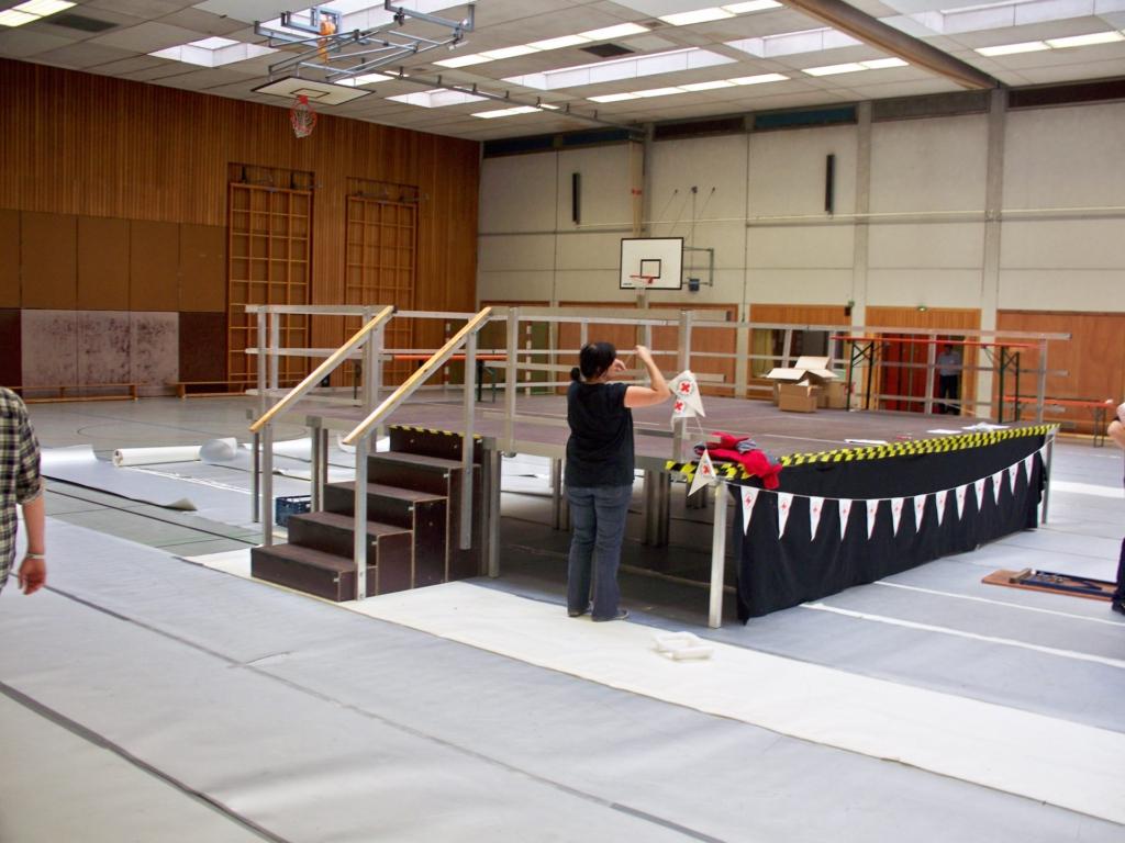 Turnhallen Bühne