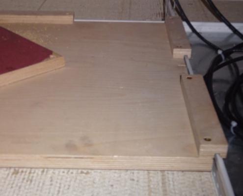 Verteilplatte Stufenfalz Deckenplatte