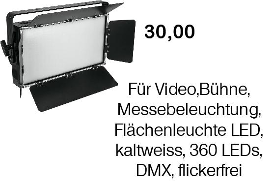 Video Flächen Leuchte