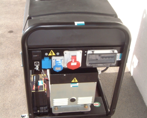 SDMO 12kVA Generator Steckdosen