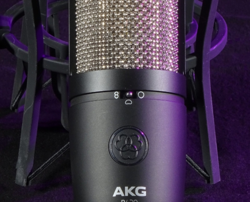 AKG P420 Grossmembran Charaktaristik