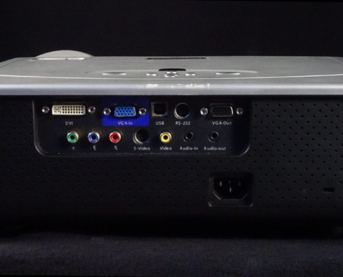Acer PD725P Beamer Buchsen