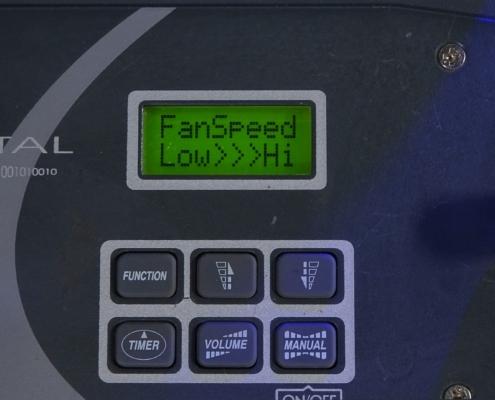 Antari Fazer X310 Hazemaschine Remote Fan Speed