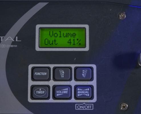 Antari Fazer X310 Hazemaschine Remote Volume