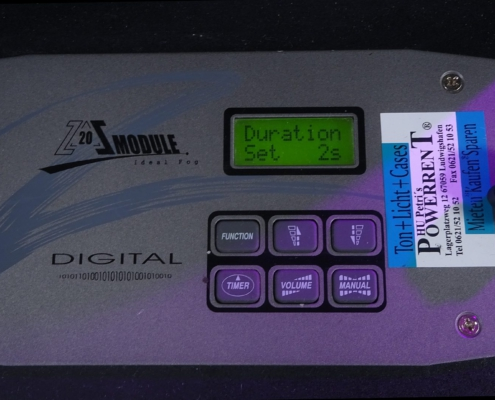 Antari Z-3000 Nebelmaschine Remote Dauer