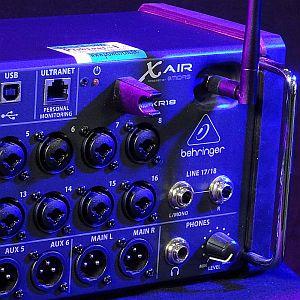 Behringer XR18 Digitalmixer mit WLAN