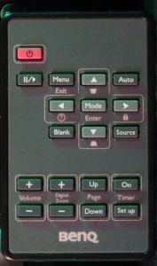 Benq MS513P Remote