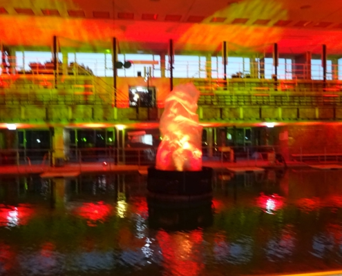 Flamelight mit Prisma Moving Head