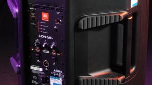 JBL EON615 Aktivlautsprecher Monitorschräge