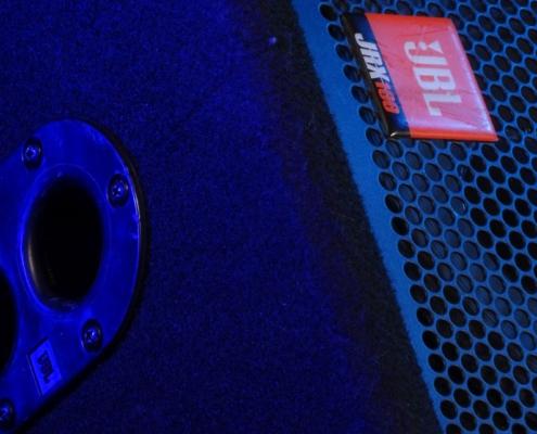 JBL JRX 112 Flansch