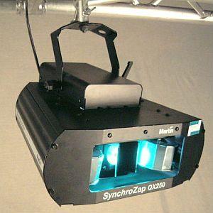 Martin Syncrozap QX250 Walzen Lichteffekt