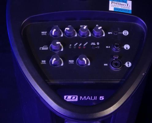 LD Systems Maui 5 Rückseite