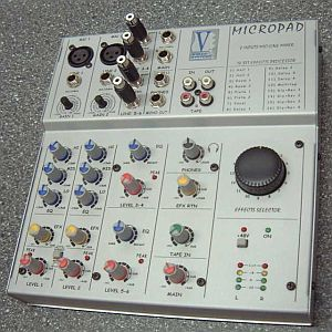 Voicesystems Micropad Livemixer mit Hall