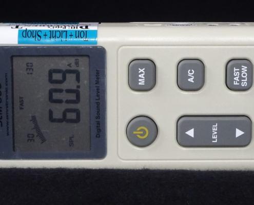 Omnitronic SLM-600 Schallpegelmesser