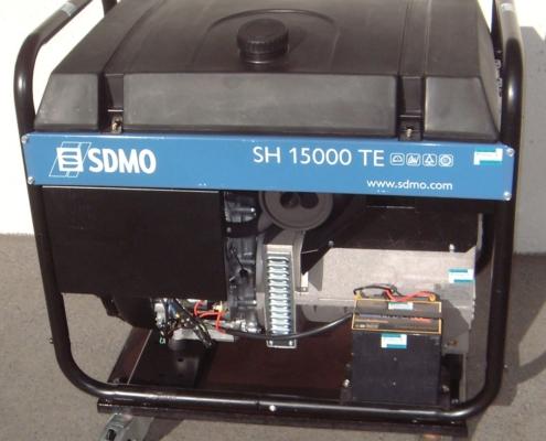 SDMO 12kVA Strom-Erzeuger