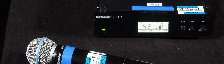 SHURE BLX R Beta 58 Funk Set