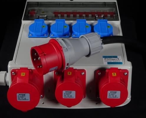 32A Stromverteiler kompakt