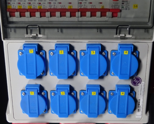 32A Stromverteiler CEE-Dosen